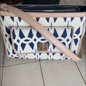 Spartina handbag with matching wallet